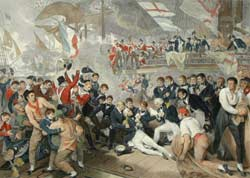 The death of Admiral Nelson