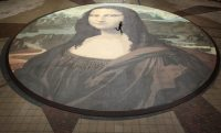 World's biggest Mona Lisa